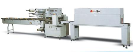 BS-450全自动高速枕式热收缩包装机
